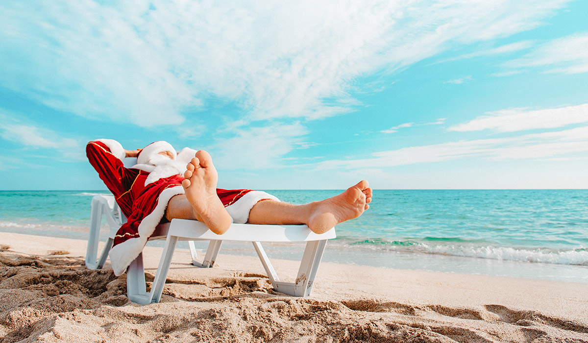 Even Santa deserves a luxury vacation on the best beaches in Mexico